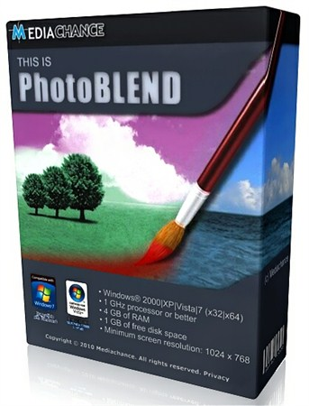 Mediachance PhotoBlend 3D v2.0.1 Rus Portable