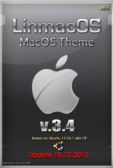 LinmacOS v.3.4 MacOS Theme Update 15.12.2012