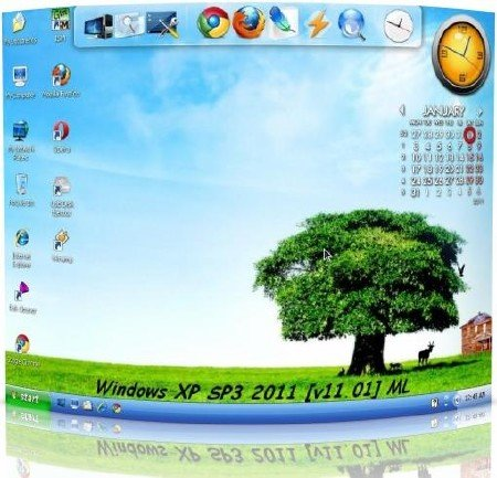 Windows XP SP3 2011 [v11.01] ML