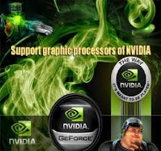 Support graphic processors of NVIDIA